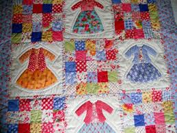 183 best Baby quilts images on Pinterest | Baby quilts, Embroidery ... & Doll Dress Up Patchwork Baby Girl Blanket Quilt Modern Retro Adamdwight.com