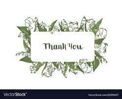Thank You Cursive Font Thank You Word Handwritten Wit Elegant Cursive