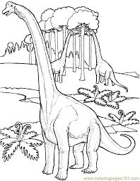 Small Picture Dinosaur Coloring Page 12 Coloring Page Free Other Dinosaur