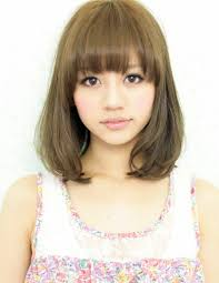 かわいい ミディアムボブ画像集 髪型ヘアスタイル Naver