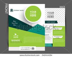Brochure Cover Pages Modern Company Flyer Business Template Download Free Vector Art