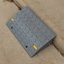 bisupply curb ramps for driveway car ramps motorcycle ramp threshold ramp 2pk 1