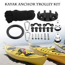 Sealect Designs Anchor Trolley Kit For Kayaks 2019 21 In 1 Diy Kayak Anchor Trolley Kit Set Nylon 9 1m Security Rope 89 45 23mm Cleat Pad Eyes 30mm 25mm Screws 2 Pulleys From Bluelike 30 75