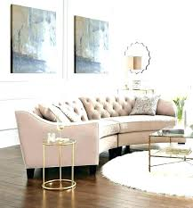 Curved Sofas For Small Spaces Sectional Sofa Charming  Decoration Small Curved Sectional Sofa84