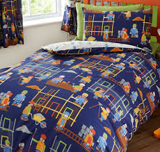 construction site toddler bedding