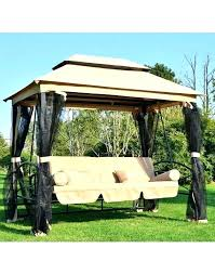 3person patio swing 3 person outdoor swing with canopy outdoor 3 person patio daybed canopy gazebo 3person patio swing