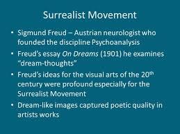 freud surrealism essay