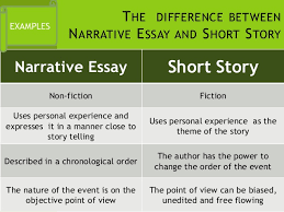 narrative vs essay what is the difference between a personal essay narrative writing
