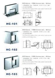 frameless glass door hinges glass shower door hinges glass door hinges shower hinge adjustment choice image