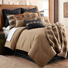 deer comforter sets cabin and lodge bedding cabin style quilts bear comforter set king white bed set full