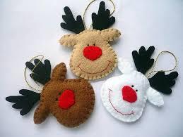 DIY Felt Christmas Ornaments | 22 Felt Christmas Crafts, Homemade Christmas  Tree Decorations