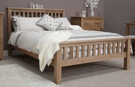 Modern Oak Bedroom Furniture Eton Solid Contemporary Oak Bedroom Furniture 5039 King Size