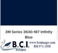 3m Scotchcal Translucent Graphic Film 3630 187 Infinity Blue