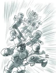 Download Coloring Pages. Lego Marvel Coloring Pages: Lego Marvel ...
