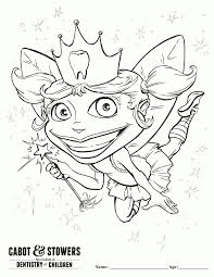 free printable tooth fairy coloring pages home