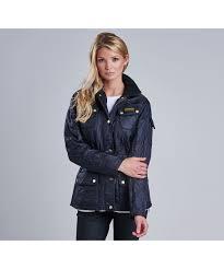Women's Barbour International Polarquilt Jacket & Ladies Barbour International Quilt Jacket - Navy Adamdwight.com