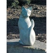 garden figures. Cat Garden Figures