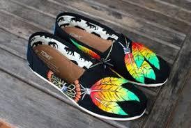 Dream Catcher Toms Rasta style Dream Catcher TOMS B Street Shoes 24