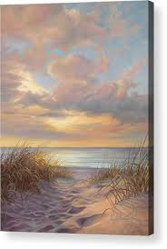 a moment of tranquility acrylic print by lucie bilodeau beach paintingsoil
