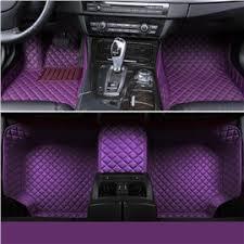 car floor mats. 16 All Weather Series Around Protection Stylish Purple Custom Fit Car Floor Mats