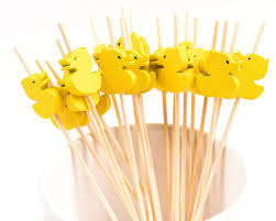 PuTwo Cocktail Toothpicks <b>100</b> Counts Cocktail Picks <b>Handmade</b> ...