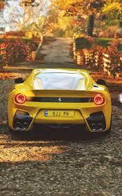 Ferrari, sports car, yellow wallpaper ...