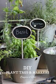 7 creative diy plant tag markers