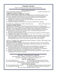 Facility Manager Resume Resume Samples Bunch Ideas Of Medical Facility Manager Resume 21