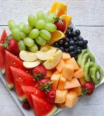 fresh fruit platter such an easy snack