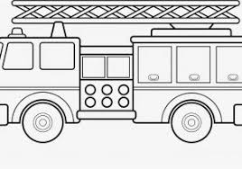Preschool Fire Truck Coloring Page Coloring Fire Truck Coloring
