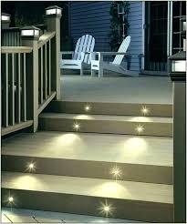 led deck lighting ideas. Solar Powered Deck Lights Lighting For Post Outdoor Step Ideas . Led