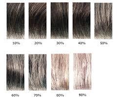 Nanogen Fibres Colour Chart Precisionhairplus Com Au How To Select A Grey Percentage