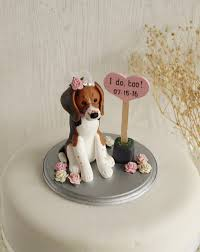 Dog Wedding Cake Topper Dog Cake Topper Dog Cake Topper On