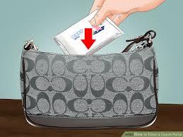image titled clean a coach purse step 5