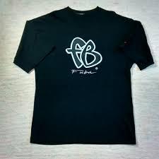 Fubu Design T Shirt Vtg Fubu T Shirt Timeless Design From An Era Depop