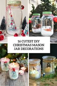 Mason Jars Decorated For Christmas 60 Cutest DIY Christmas Mason Jar Decorations Shelterness 22