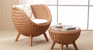 easy chair rattan
