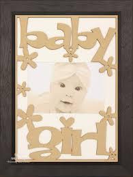 new baby girl gift wooden frame black wood white