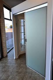 frameless sliding door