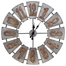 wood windmill wall clock