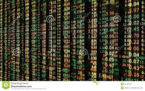 Stock Number Stock Market Number Background Stock Footage Video Of