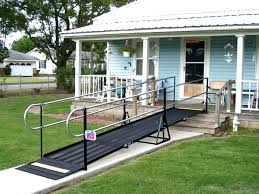 ramp with handrail things to keep in mind while building handicap intended for wheelchair ramps home