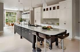 concrete kitchen island storage cupboards 4 wood bar stools white cabinets