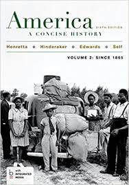 amazon com america a concise history volume  america a concise history volume 2 6th edition
