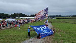 Fmr. President Donald Trump speaks at ...