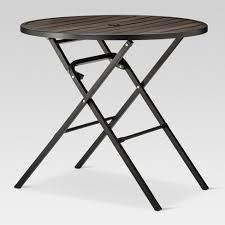 round wood outdoor table.  Wood Bryant 32 On Round Wood Outdoor Table