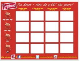 Office Tea Chart Typhoo Tea Break Chart For Your Office Tea Culture