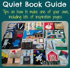 how to make a quiet book from and next es l