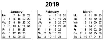 printable 6 month calendar 2019 2019 3 month printable blank calendar templates free free