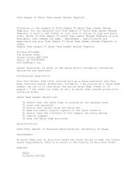 Examples Of Resumes Example Resume Format View Sample Pertaining